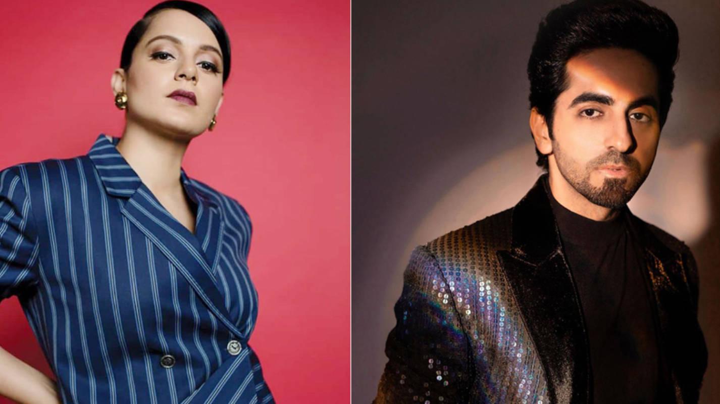 Kangana Ranaut slams Ayushmann Khurrana; calls him 'Chaploos Outsider' and 'Mediocre'