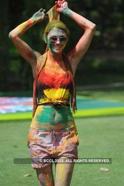 Vineet Jain's Holi Party '11 - 2