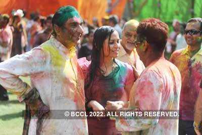 Vineet Jain's Holi Party '11 - 4