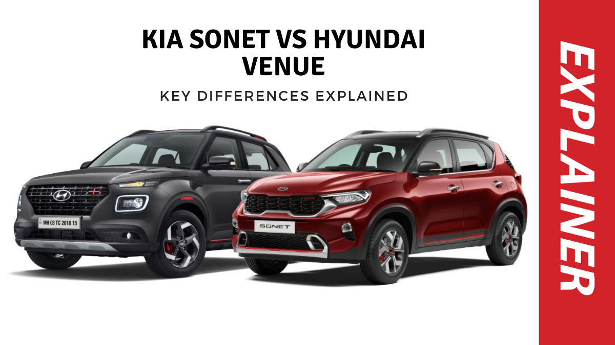 Kia Sonet Vs Hyundai Venue Key Differences In Prices Specifications And Design