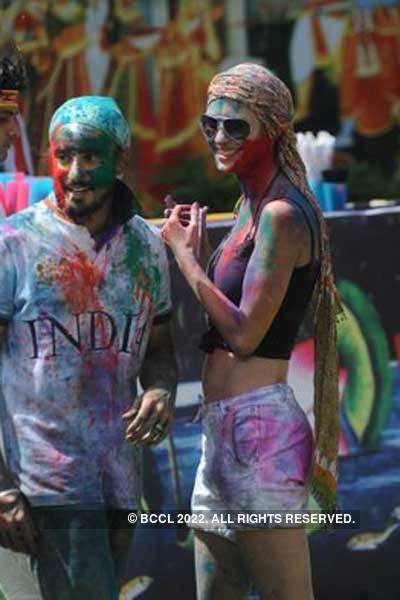 Vineet Jain's Holi Party '11 - 6