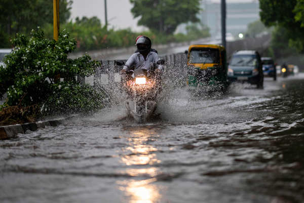 Massive rains in Delhi bring respite from sultry weather
