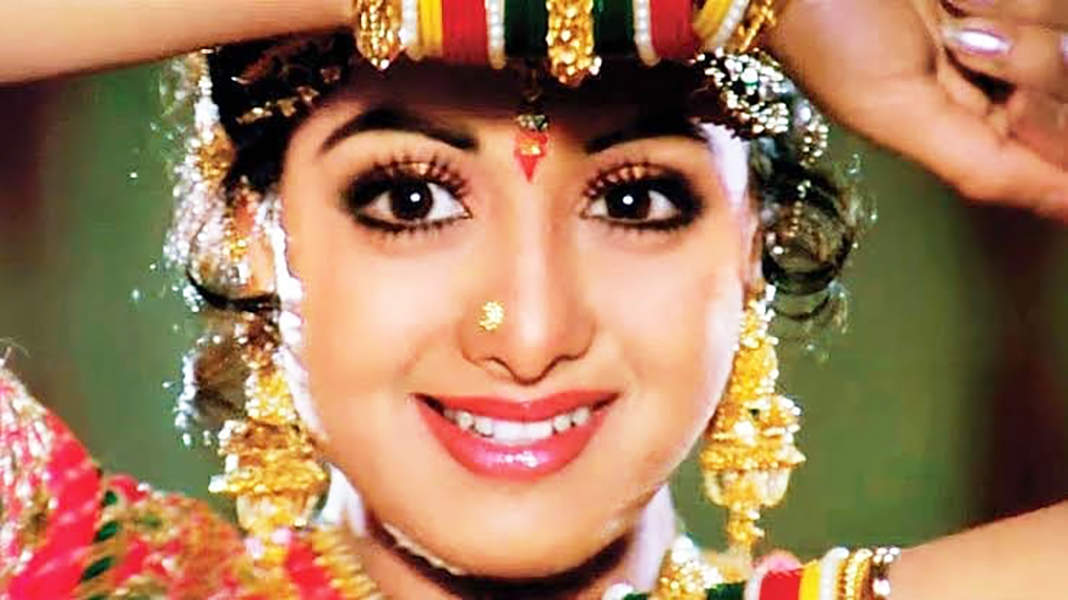 Dreamy pictures of legendary actress & first female 'Superstar' of Bollywood, Sridevi