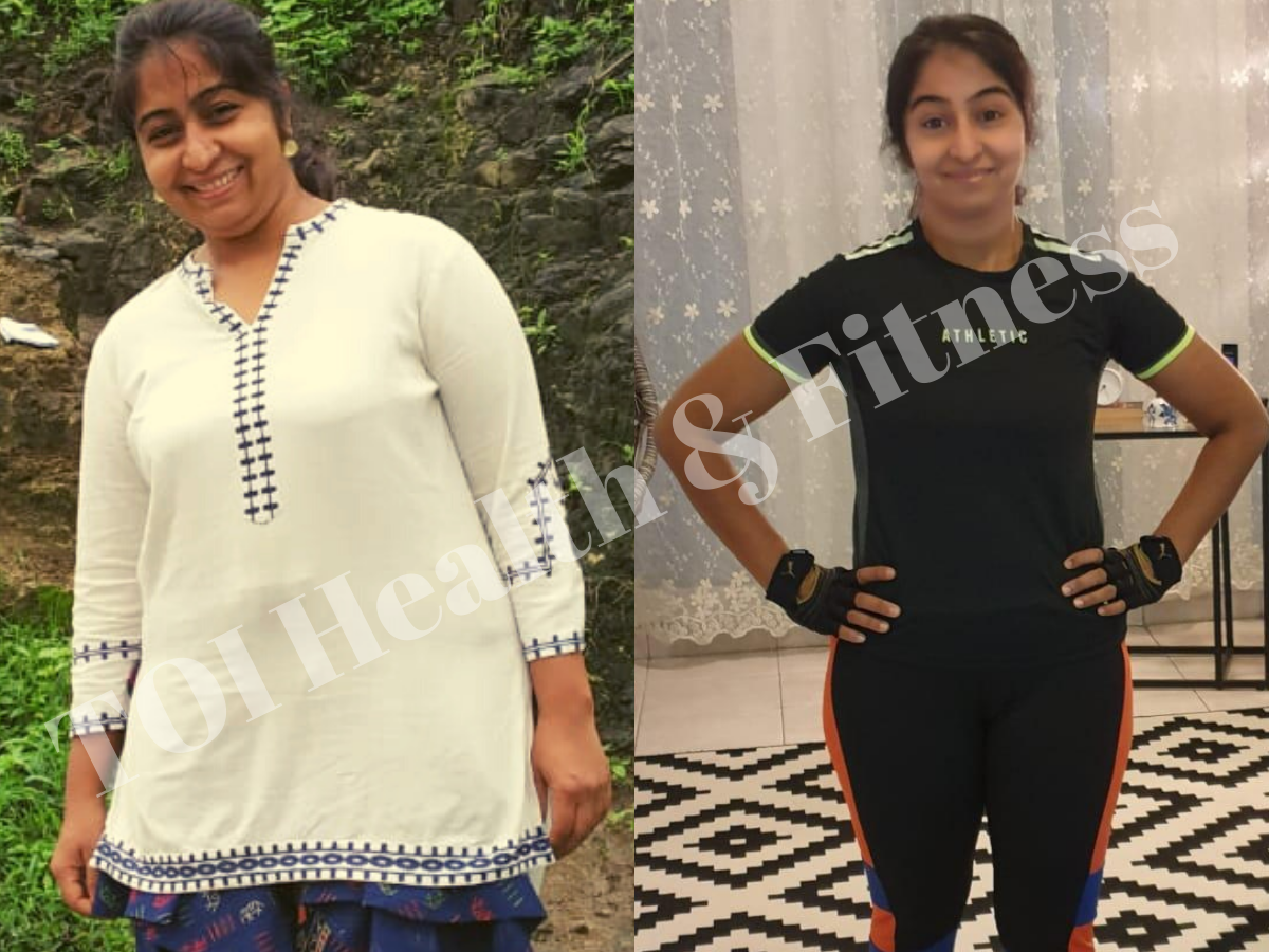 Weight Loss Story I Lost 23 Kilos In 9 Months By Doing Intermittent Fasting And Working Out At Home The Times Of India