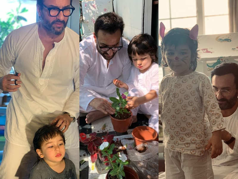 FIVE unmissable moments of Saif Ali Khan with his son Taimur Ali Khan during the lockdown thumbnail