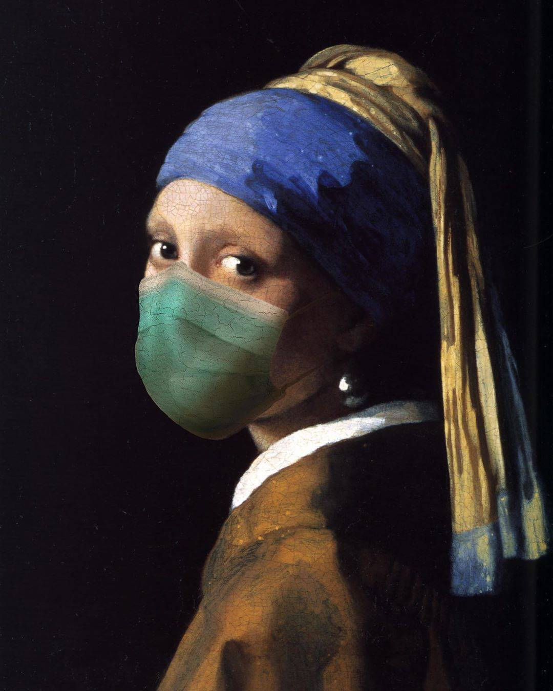 If these iconic artworks were painted during the Covid-19 pandemic