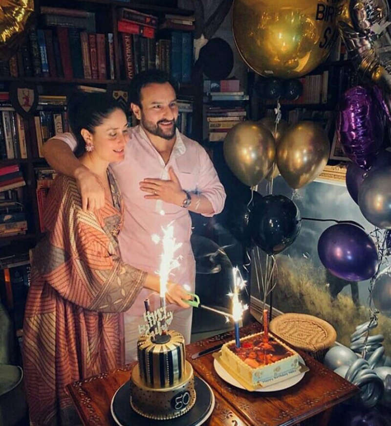 Inside pictures from Saif Ali Khan's 50th birthday party