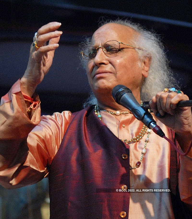 A pictorial tribute to legendary Indian classical vocalist Pandit Jasraj