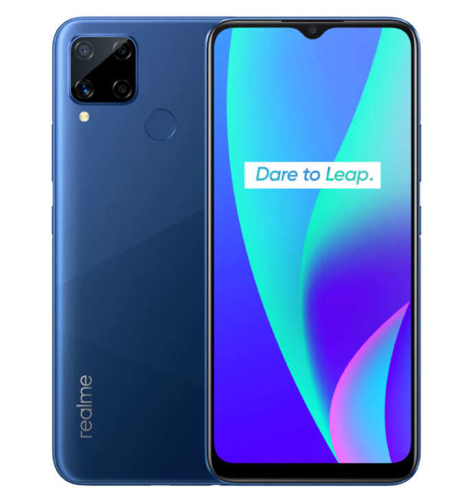 Realme C12: Realme C12 and Realme C15 smartphones with 6000 mAh battery launched in India - Mobiles News   Gadgets Now