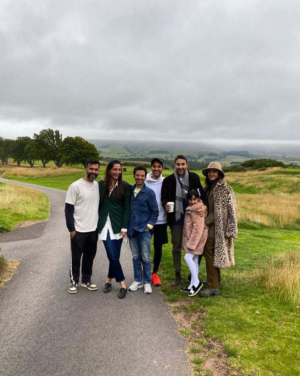 Sonam Kapoor and hubby Anand Ahuja spend weekend in Scotland amid Covid-19 pandemic