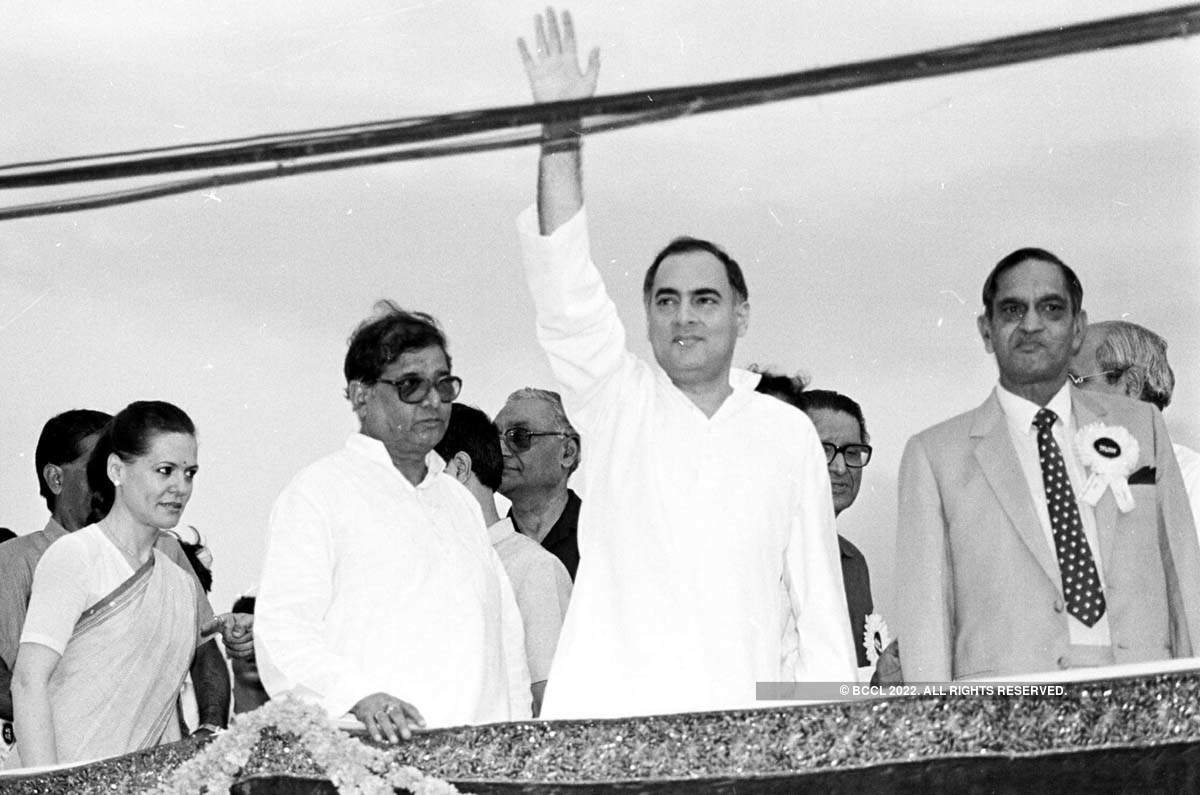 Rajiv Gandhi's 30th death anniversary: Rare pictures of India's youngest Prime Minister