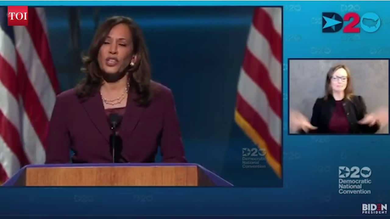 Kamala Harris at DNC 2020: There is no vaccine for racism, we have got to do the work