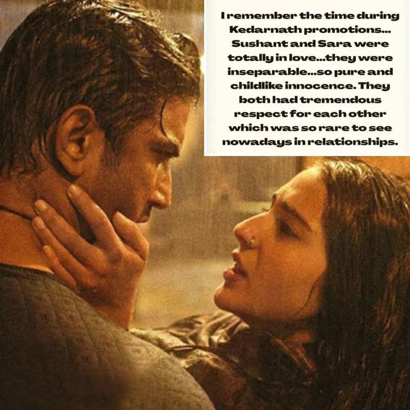 """""""Sushant and Sara were 'totally in love' during 'Kedarnath' promotions,"""" says Sushant's friend Samuel Haokip"""