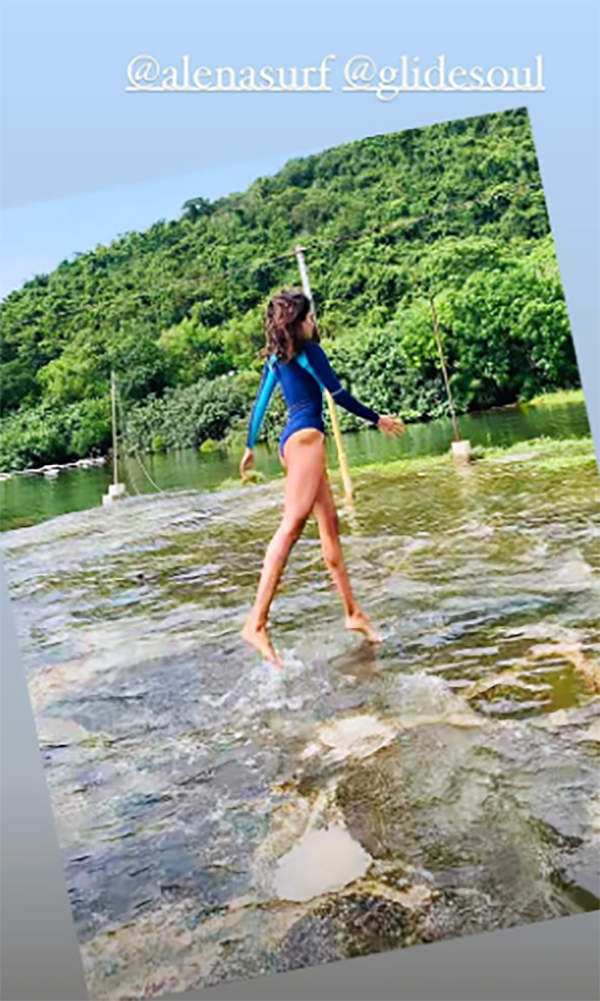 New surfing pictures of Lisa Haydon will make you hit the beach!