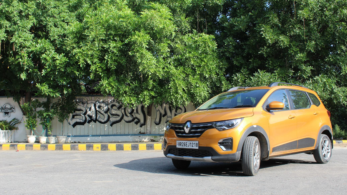 Renault Triber AMT driven: Now in pictures