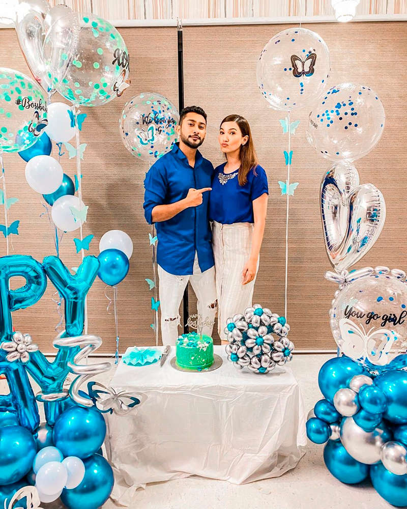 Gauahar Khan spends her birthday with rumoured boyfriend Zaid Darbar