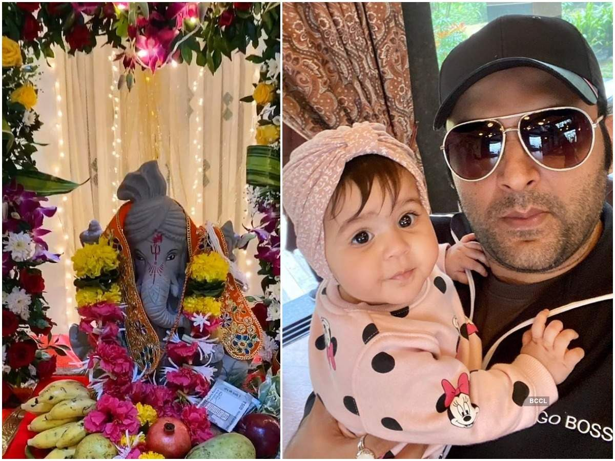 Kapil Sharma, Divyanka Tripathi to Dilip Joshi: TV celebs welcome lord Ganesha home and celebrate the festival with full devotion    The Times of India