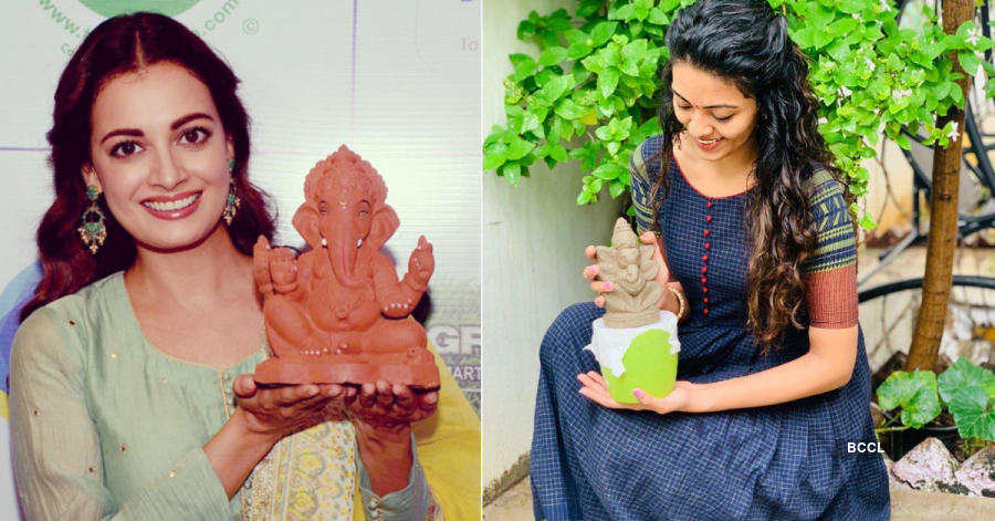 Beauty Queens Celebrate Eco-Friendly Ganesh Chaturthi 2020