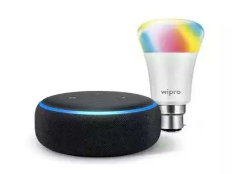 You can use a smart speaker to control smart LED lights instead of switches