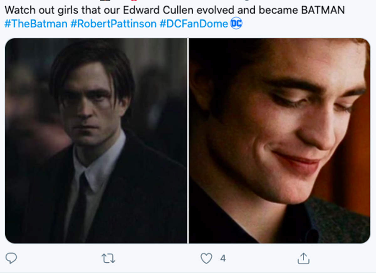 Memes of 'The Batman' star Robert Pattinson that are going viral online