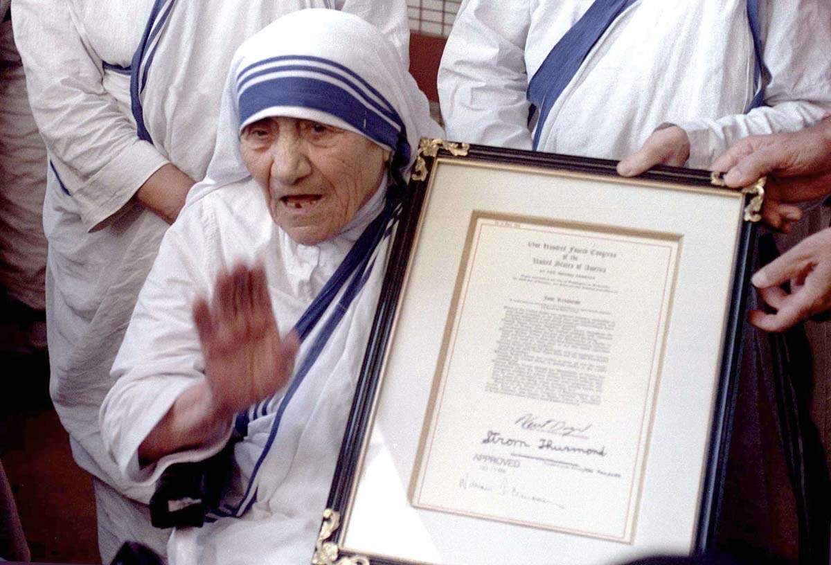 Mother Teresa's 110th birth anniversary: Rare heart warming pictures of the saint