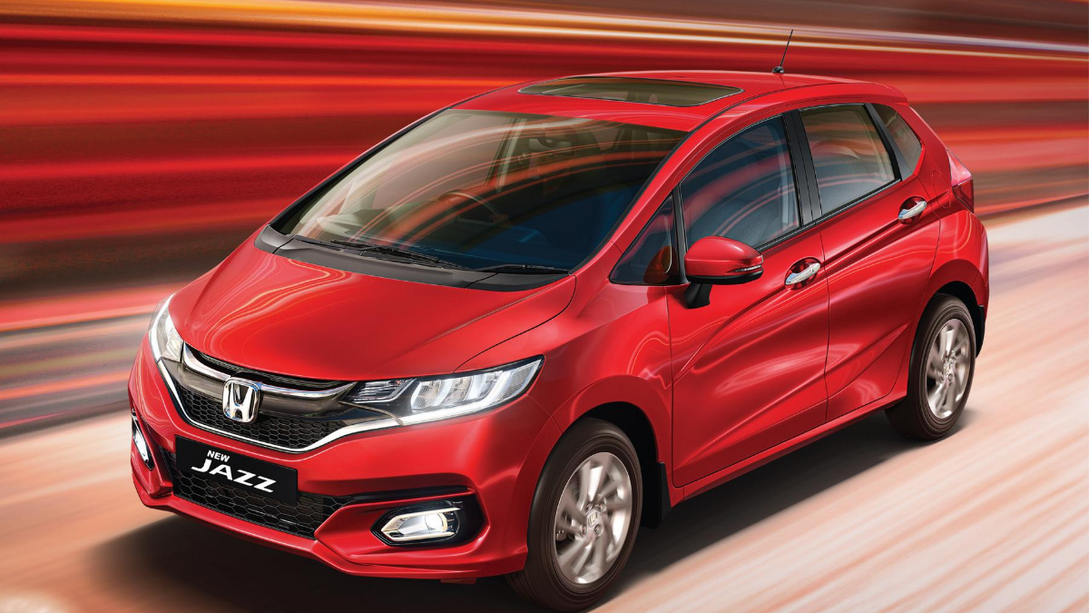 Honda drives in refreshed Jazz