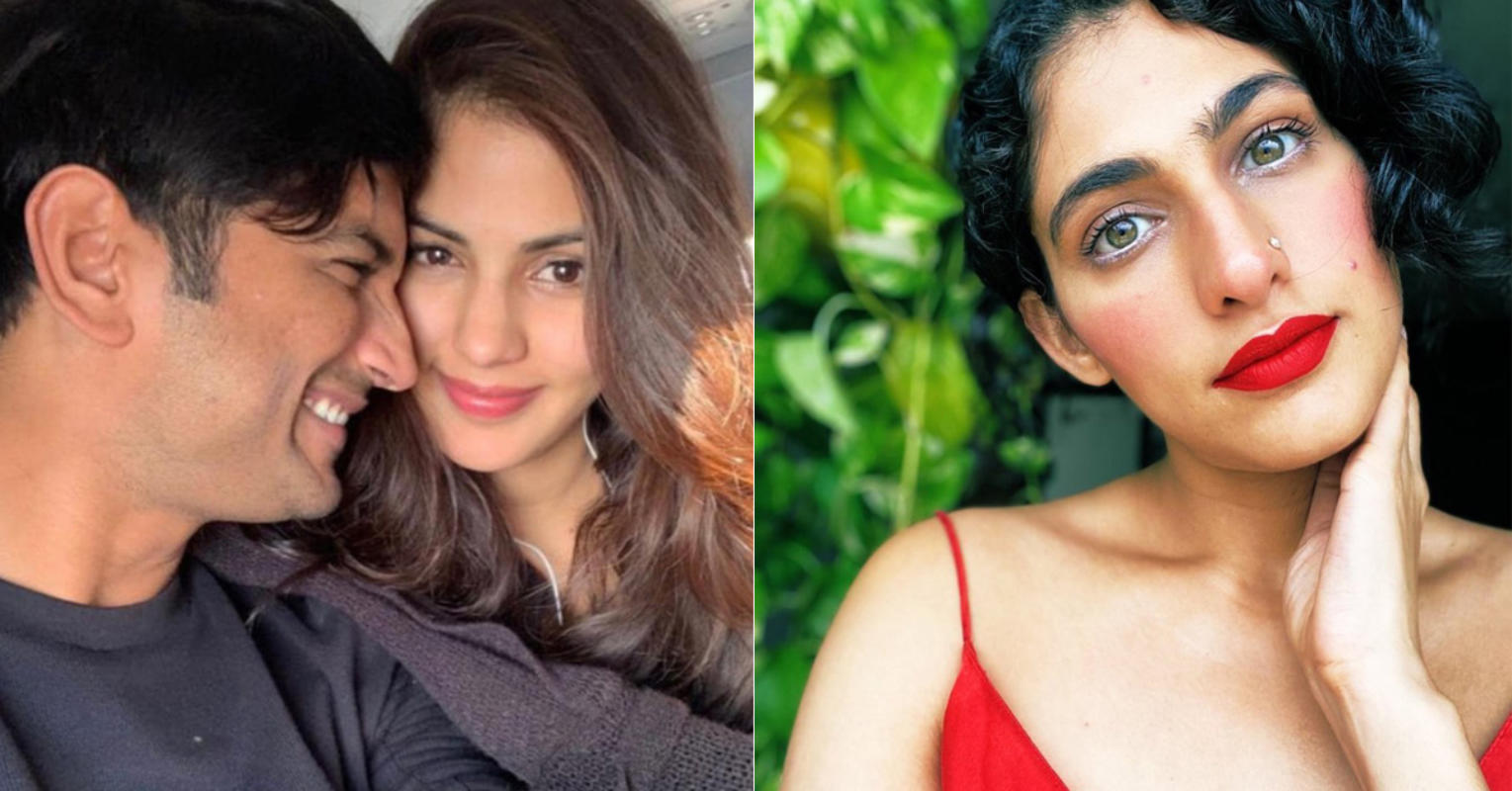 Kubbra Sait came out in support of Rhea Chakraborty; slams a troll who called her 'bait to trap rich men'