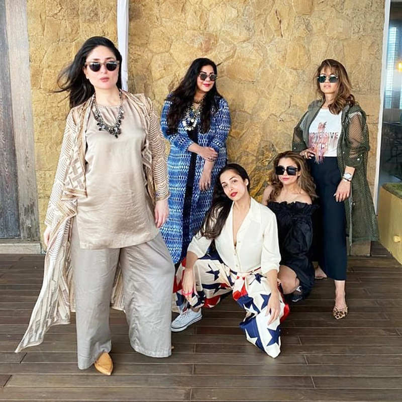 Stunning pictures of pregnant Kareena Kapoor Khan with her girl gang