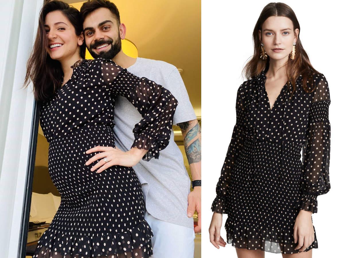 Anushka Sharma maternity dress