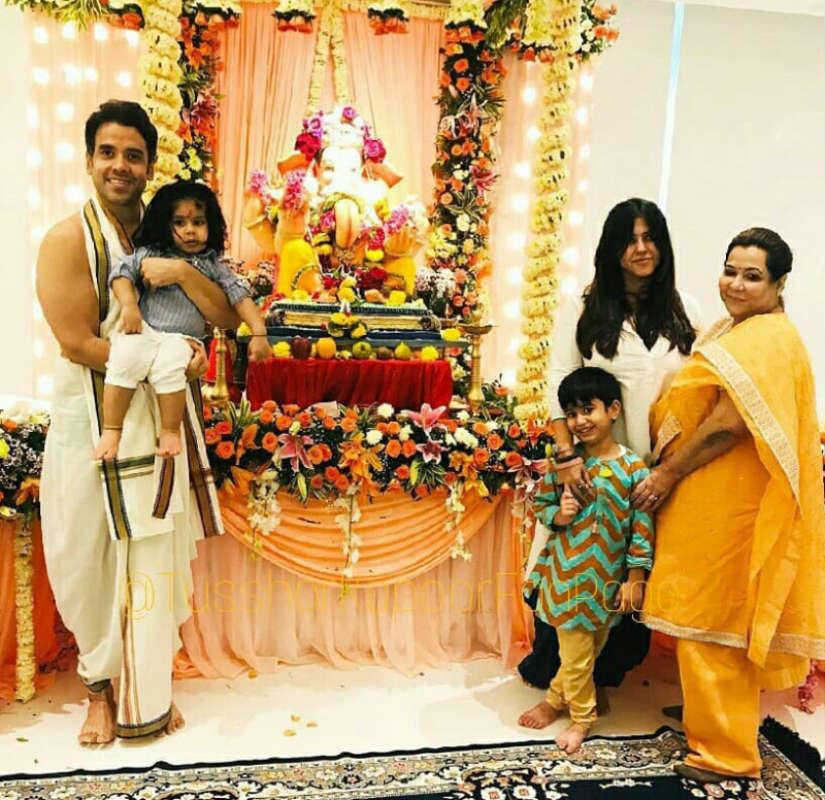 Amid coronavirus outbreak, Ekta Kapoor hosts Ganpati Visarjan at her home