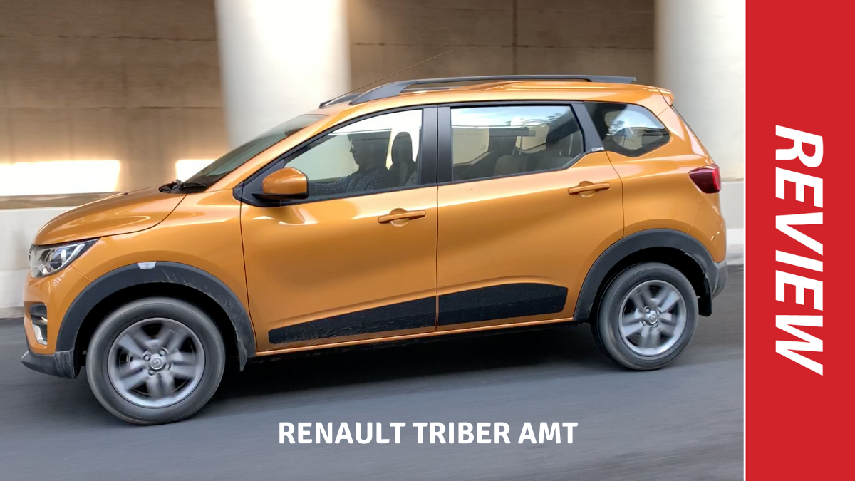 Renault Triber Amt Review Renault Triber Amt Review Convenience Or Compromise Times Of India