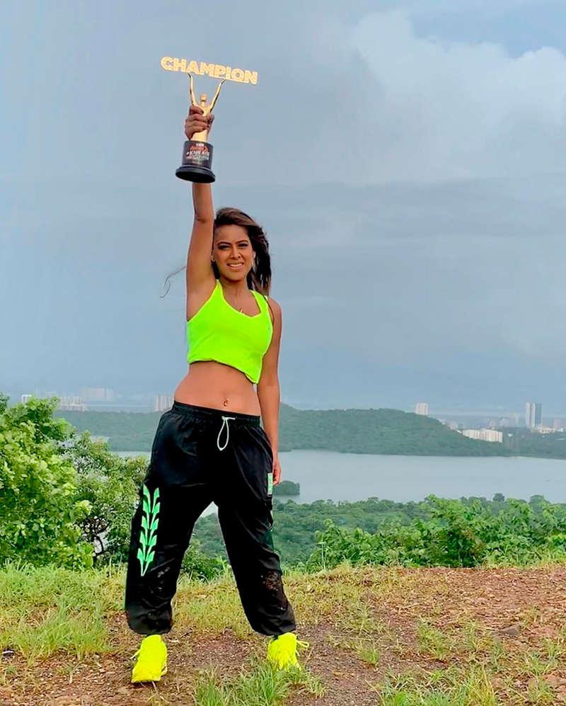 'Naagin' fame Nia Sharma wins Rohit Shetty's 'Khatron Ke Khiladi: Made In India'