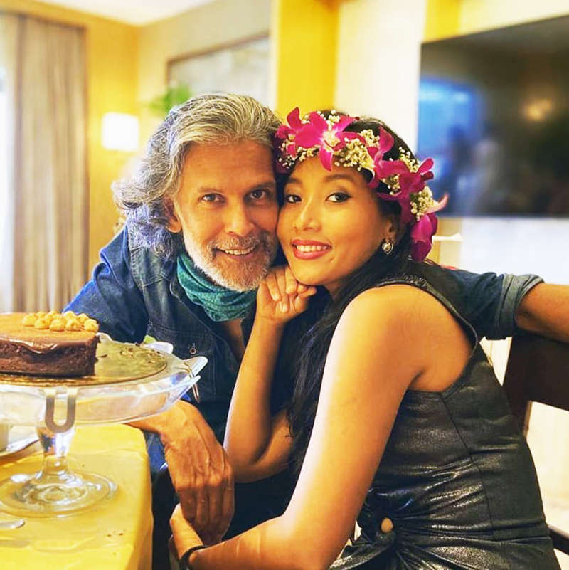 This is how Milind Soman made wifey Ankita Konwar's 29th birthday a special one