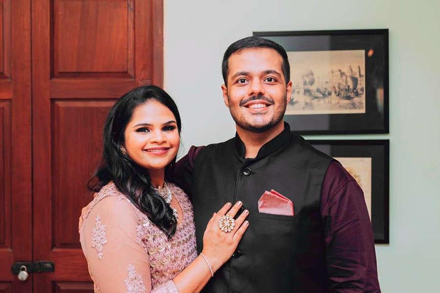 Vidyu Raman gets engaged to fitness trainer Sanjay