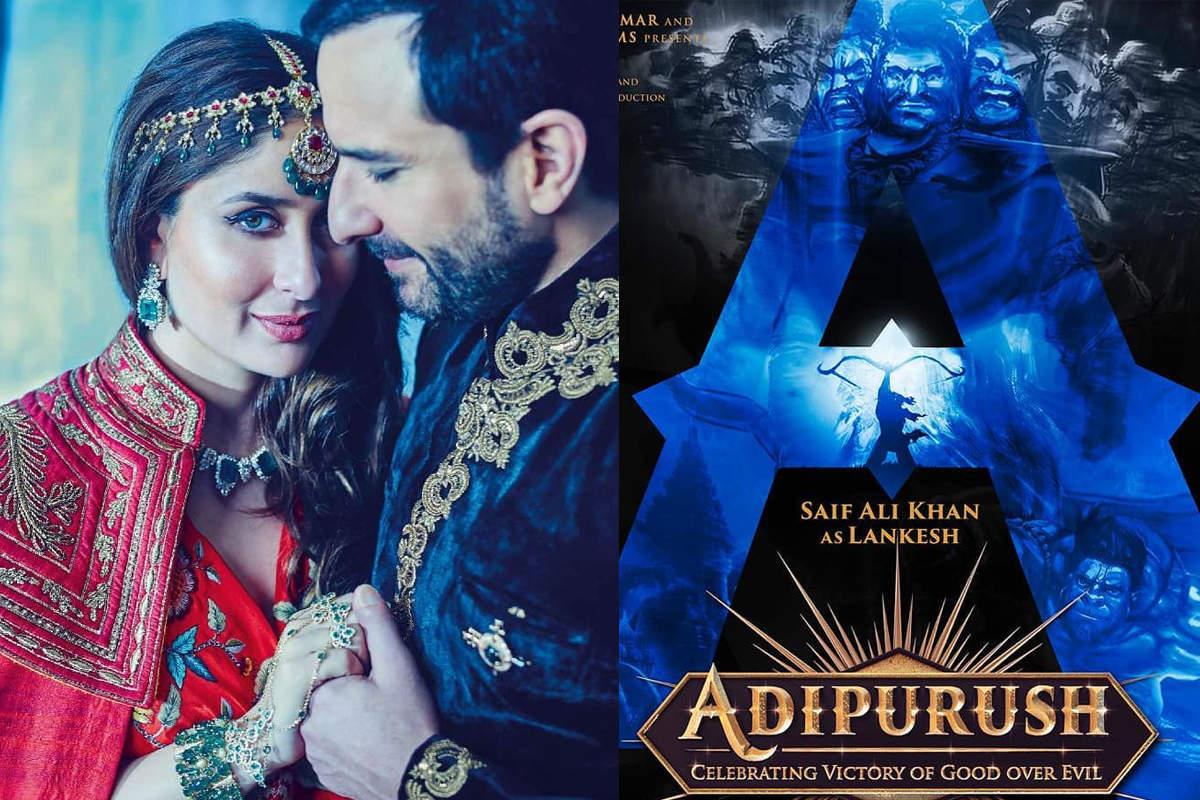 Kareena Kapoor unveils 'Adipurush' poster; calls Saif Ali Khan 'most handsome devil'