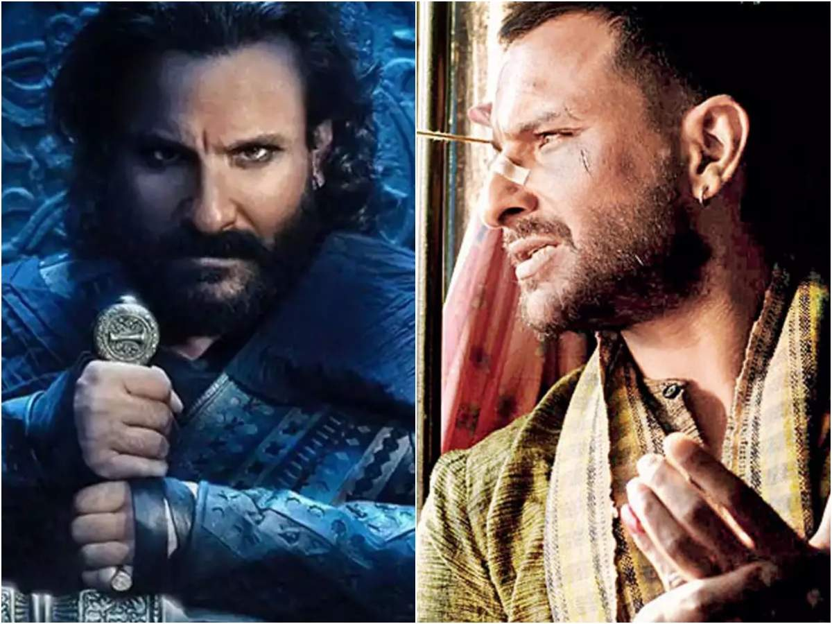 'Omkara' to 'Tanhaji': When Saif Ali Khan stunned the audience with his dark and negative characters - Times of India