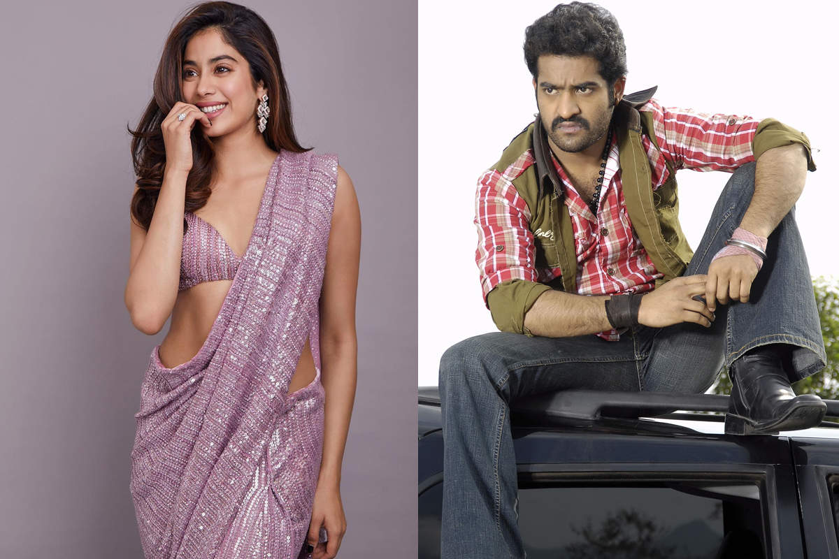 Janhvi Kapoor may team up with Jr NTR to make her Tollywood debut
