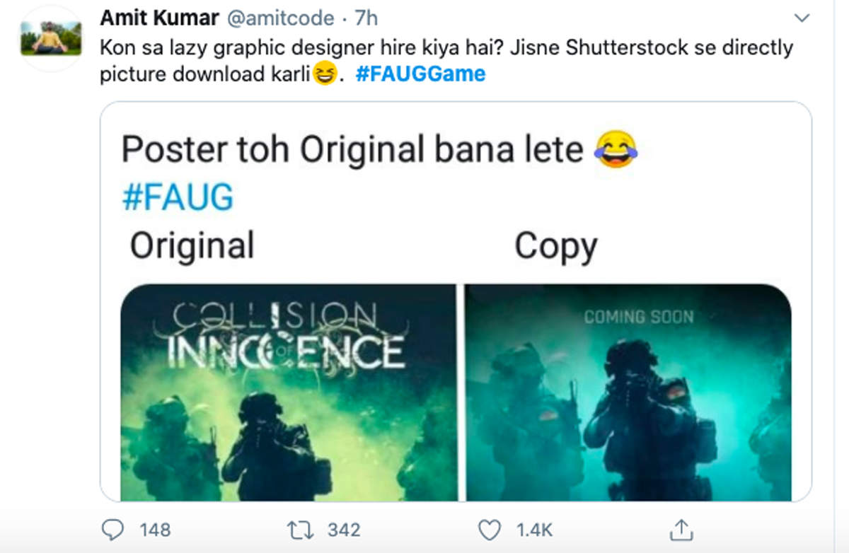 Launch of FAU-G  and ban of PUBG set off hilarious memes online