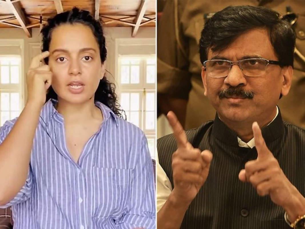 Sanjay Raut wants Kangana Ranaut to apologise to Maharashtra for insulting Mumbai and calling it 'mini Pakistan'