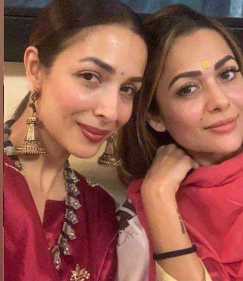 Amrita Arora criticises people who are circulating sister Malaika Arora's Covid-19 test report