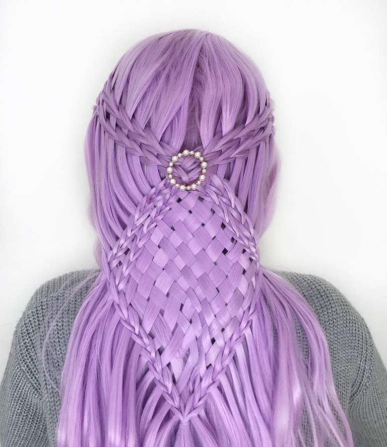 Coolest hairstyles by a 17-year-old German teenager that will make you want long hair