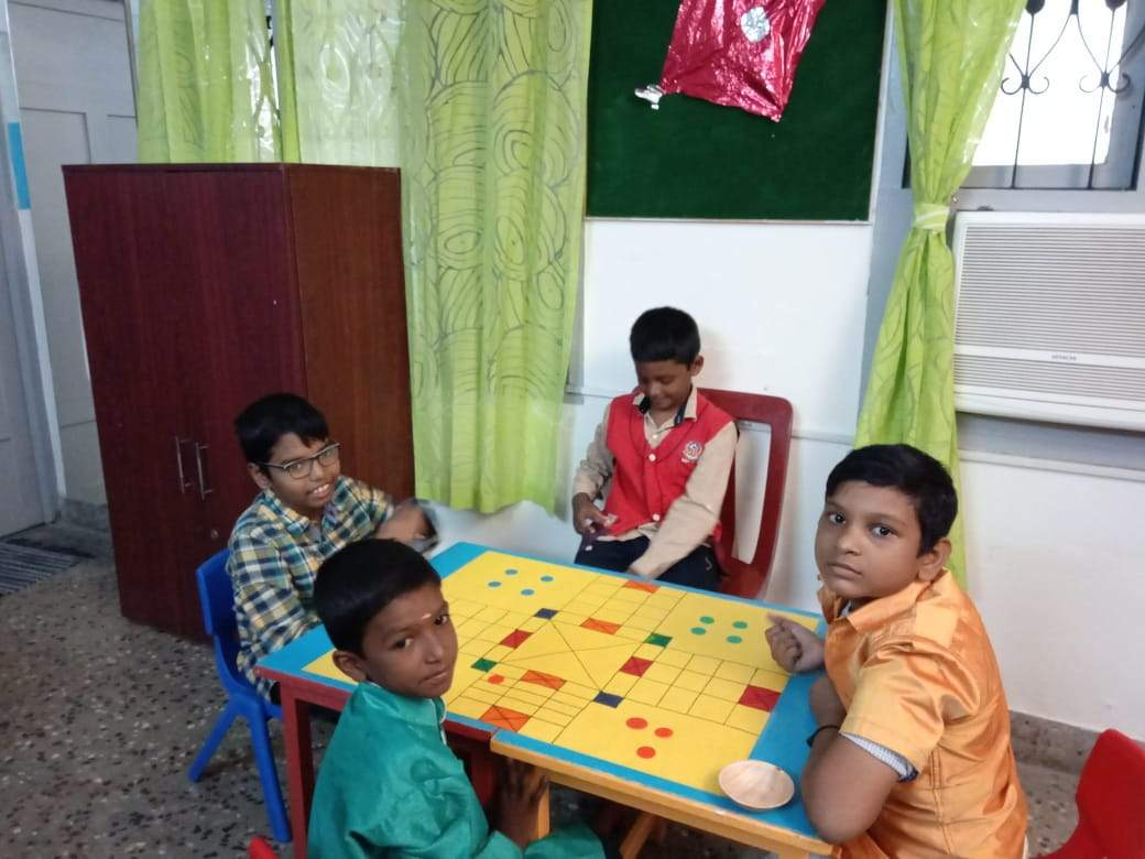 Madras Dyslexia Association uses traditional games to teach children with special needs