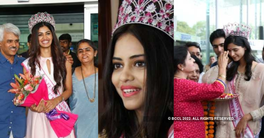 Throwback: A series of glorious homecoming moments from Femina Miss India 2016