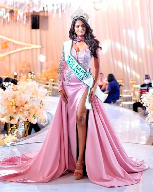Doctor turned beauty queen Nisha Thayananthan chosen as Miss Earth Malaysia 2020/2021