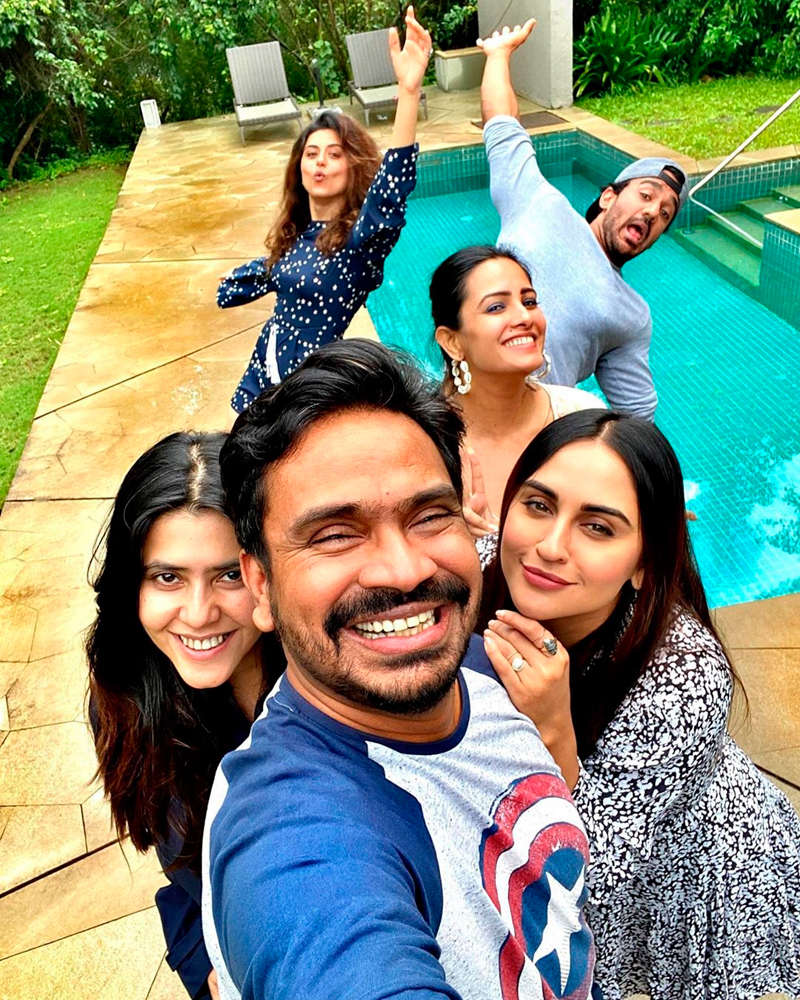 Anita Hassanandani, Krystle D'souza, Ekta Kapoor, Ridhi Dogra and others enjoy a much-needed holiday