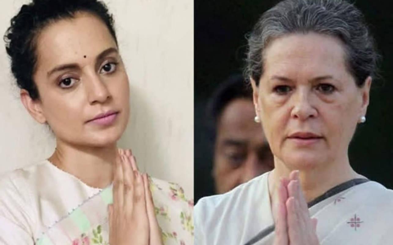 "Kangana Ranaut slams Congress leader Sonia Gandhi; says ""History will judge your silence"""
