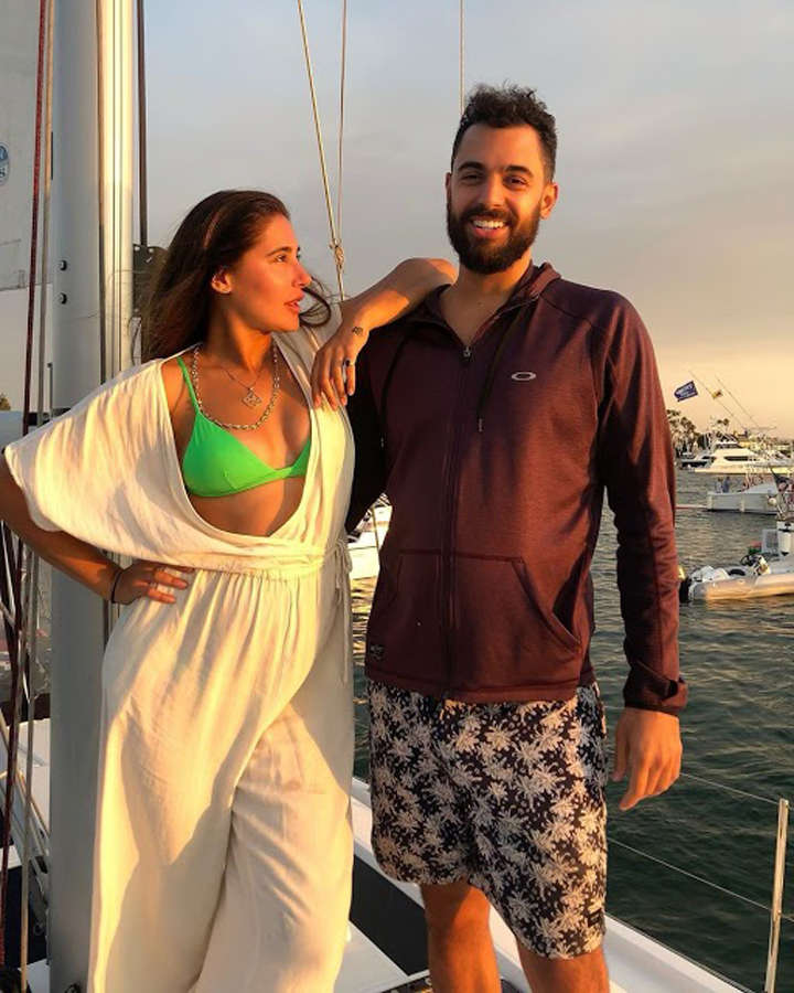 Nargis Fakhri and her beau Justin Santos are painting the town red with their romance