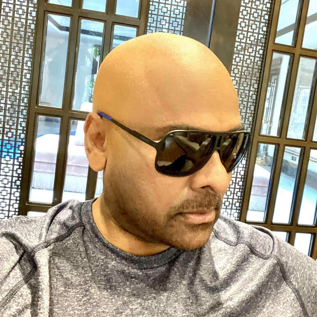 Chiranjeevi surprises fans with new bald look; calls himself 'urban monk'