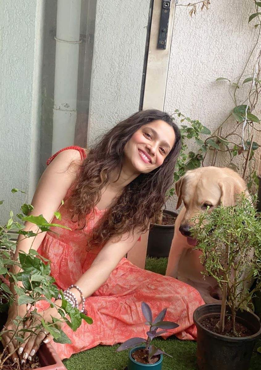 Ankita Lokhande fulfils Sushant Singh Rajput's dream; joins #Plants4SSR campaign