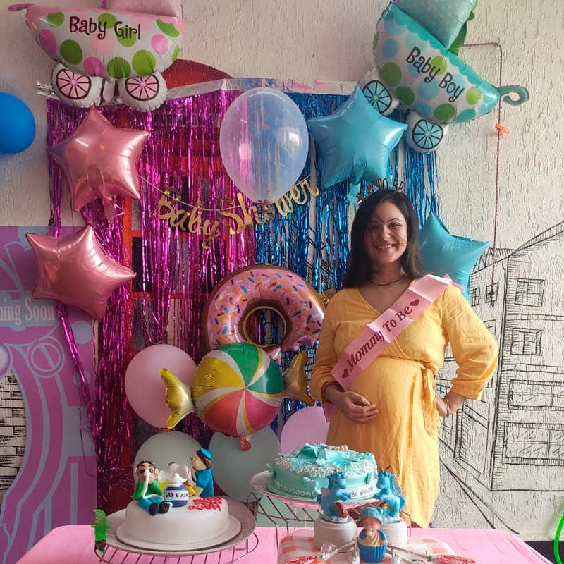 Inside pictures from Puja Banerjee's surprise baby shower go viral